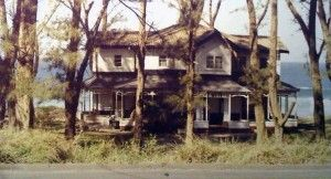 The house as it once was