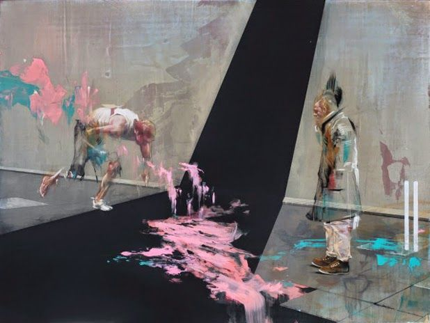 Paintings by Ian Francis | http://ineedaguide.blogspot.com/2015/04/ian-francis-update-2.html | #art #paintings