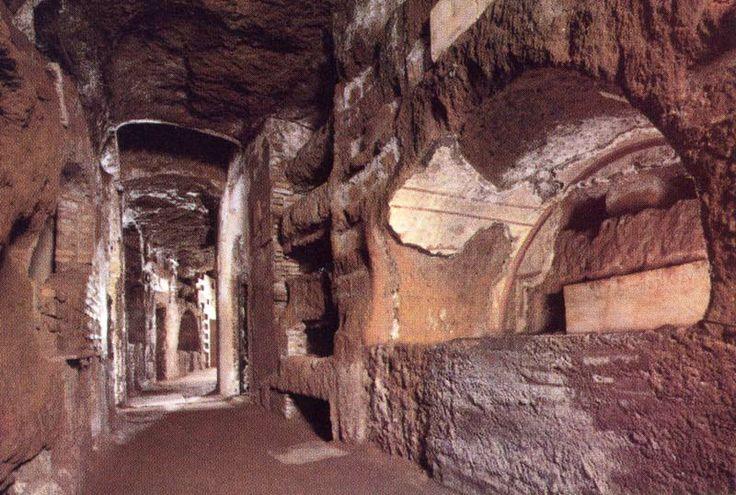 Catacumbas de San Calixto, Roma.