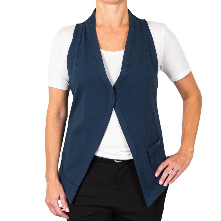 Lucky vest - vintage indigo