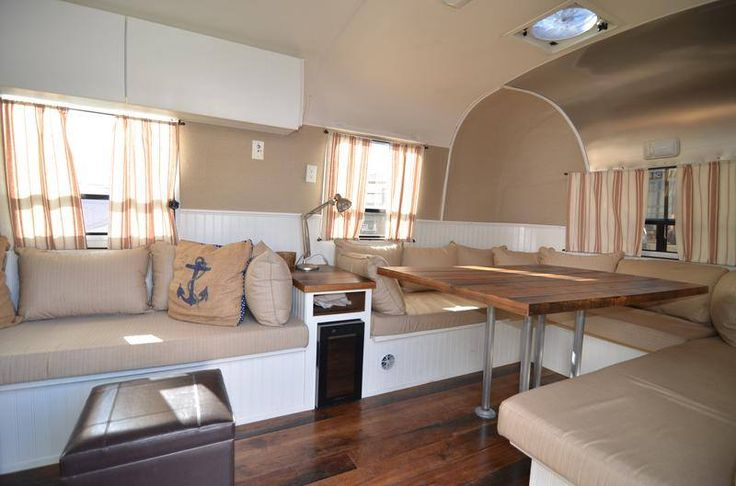 Hit the road in comfort! #LivingAirstream.                                     Oh my Goodness ...that would be living the dream!