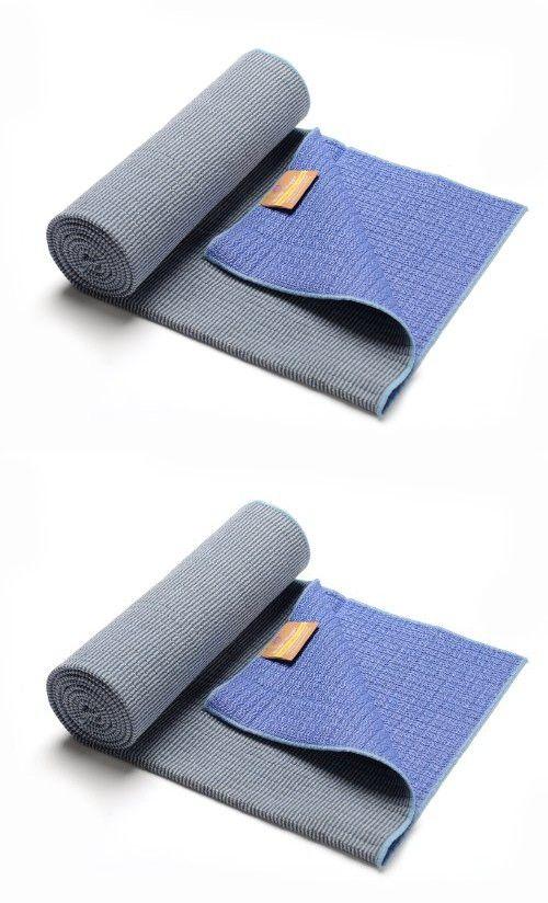 Hugger Mugger Eco Bamboo Yoga Towel, Sky Blue