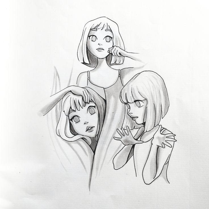 Chandelier Sia By Meritxell Garcia Illustration Illustrationoftheday Drawing