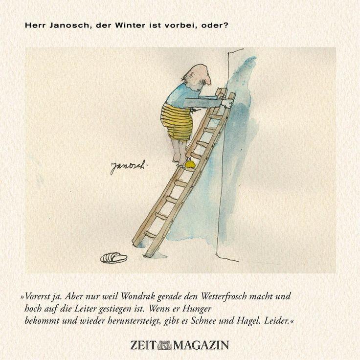 Herr #Janosch, der #Winter ist vorbei, oder?