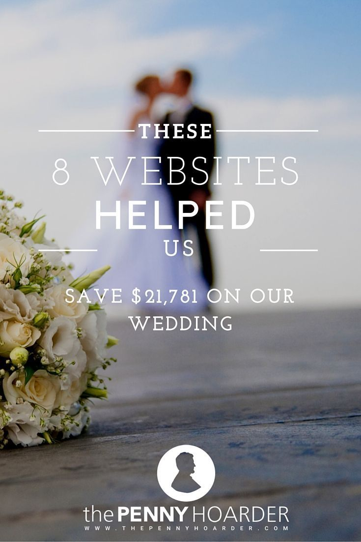 Want to save money on a wedding? This tech-savvy couple got creative and used eight popular websites to stick to their wedding budget, saving a ton of cash compared to the national average. Here's how they did it. - The Penny Hoarder http://www.thepennyhoarder.com/wedding-budget-websites/