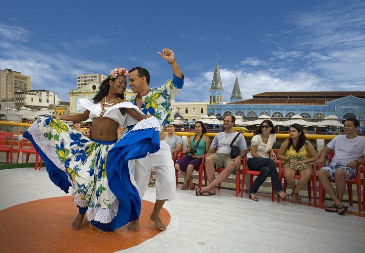 """Dança local """"CARIMBÓ"""""""