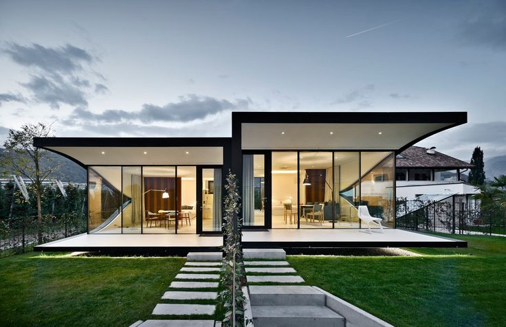 Mirror Houses in Bolzano, Italy / by Peter Pichler Architecture