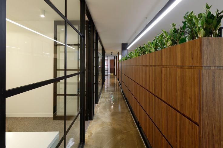 O'Donnell Salzano Lawyers Commercial Office Fitout Hallway