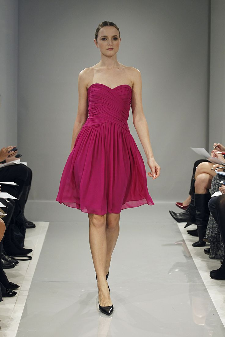 14 best fall 2013 bridesmaids images on pinterest monique monique lhuillier bridesmaids dress fall 2013 ombrellifo Image collections