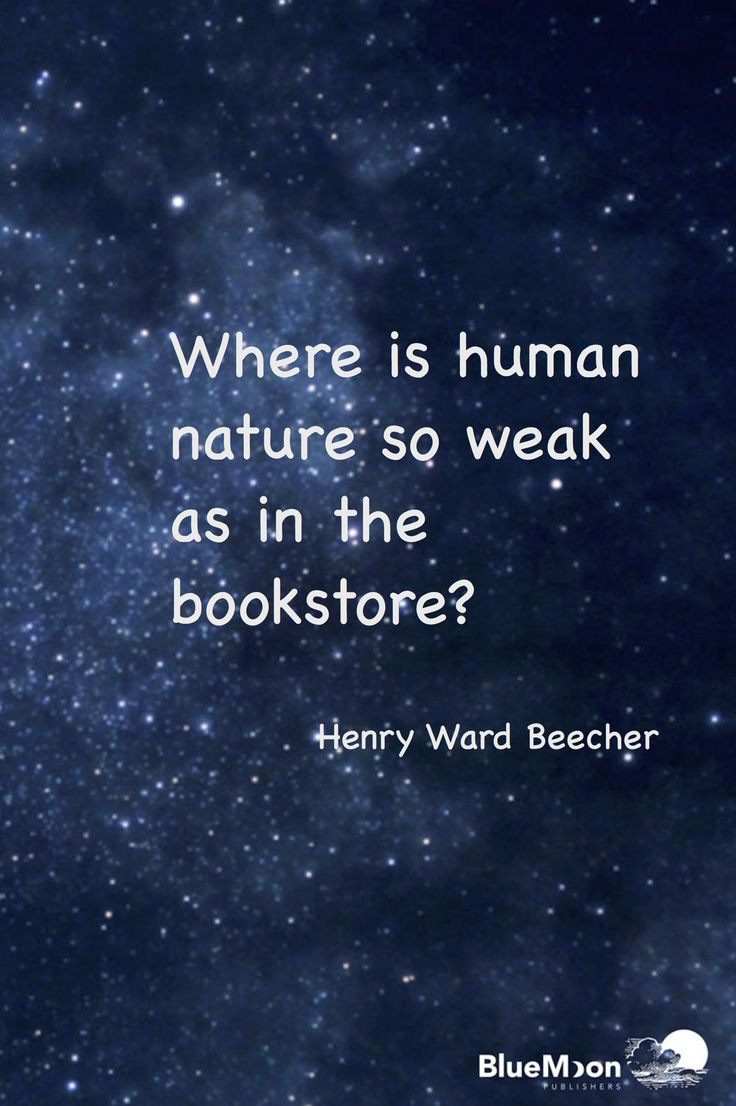 True words from Henry Ward Beecher