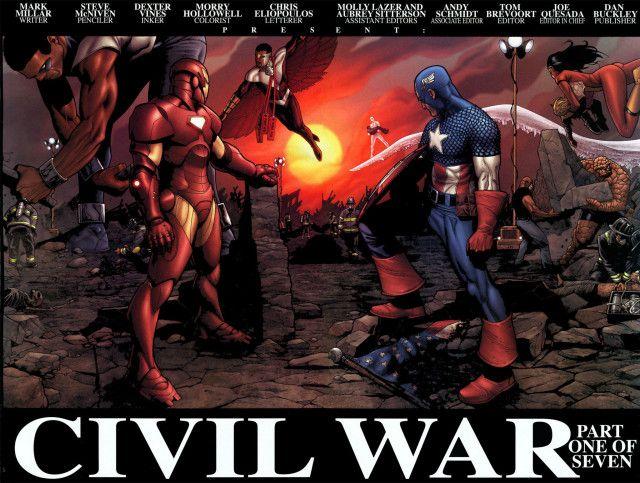 marvel civil war, mark millar, steve mcniven