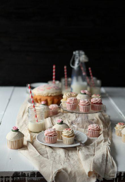 Beautiful cupcakes photoshoot
