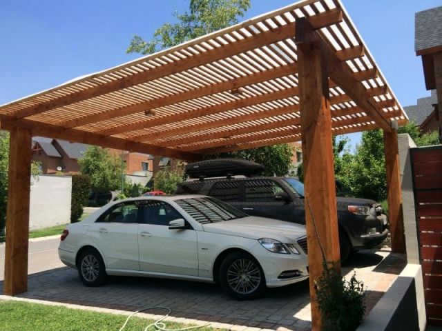 380 best garage bois toit plat images on Pinterest Garages, Car - Montage D Un Garage En Bois