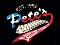 pete's dueling piano bar, houston, texas. very fun nights & very long walks back to the hilton in houston.