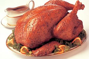 Seasoned to perfection, this traditional stuffed turkey is sure to become a holiday favourite for years to come. @DinnerByDesign