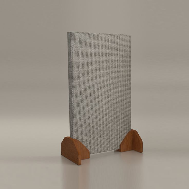 Acoustimac Quick-Stand Acoustic Panel Bookend-Style Stands (Two Piece)