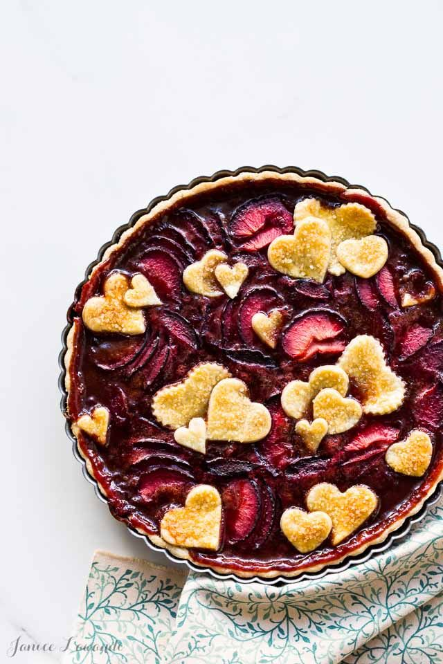 Plum tart recipe | @ktchnhealssoul