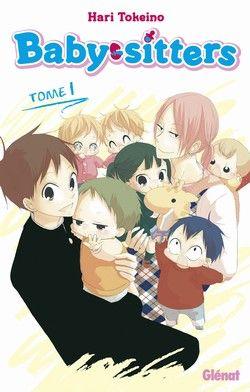 SHOJO Baby-sitters t.1 - Hari Tokeino - Glenat /  Ryuichi et son frère Kotaro se retrouvent orphelins suite au crash de l'avion qui transportait leurs parents. Ils sont recueillis par la directrice de l'Académie Morinomiya mais en échange, Ryuichi devra intégrer le «club des baby-sitters» et s'occuper de la crèche destinée à garder les enfants des professeurs. Ryuichi se débrouille plutôt bien avec les enfants, mais veiller sur six bébés en même temps, c'est une autre affaire !