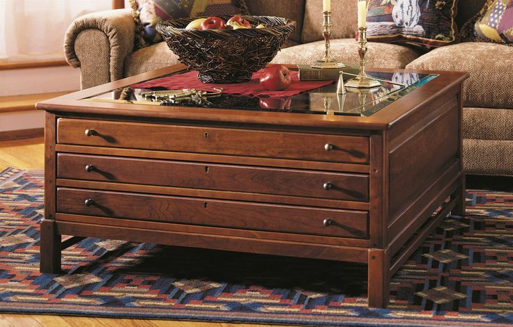 Photo Of Collector S Square Coffee Table W Glass Top Bob