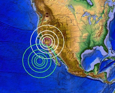 https://www.facebook.com/DutchsinseOfficial/posts/1049127701806320 12/27/2015 — WEST COAST VOLCANIC EARTHQUAKES — FLURRY OF M4.0 TO M4.9 STRIKE CALIFORNIA VOLCANOES OVER A FEW DAYS TIME - DECEMBER 27, 2015 - MICHAEL JANITCH - Dutchsinse -  West Coast / California earthquake Warning / Watch: ANOTHER Volcanic earthquake along the West coast -- This now makes FOUR different volcanoes struck in the same amount of days (4 days time)... all along the West coast in California....