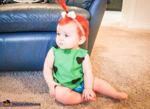 pebbles flintstone baby costume - Google Search
