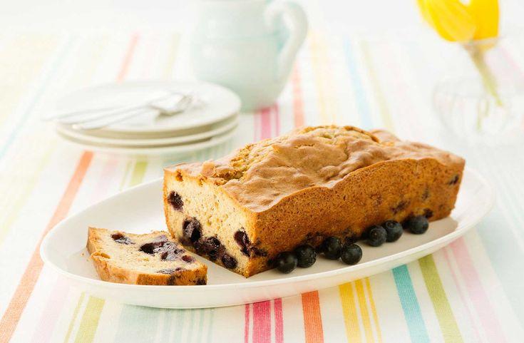 Recept voor Blauwe bessen-kaneelcake