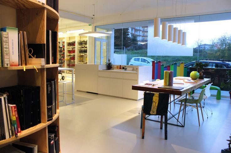 An emotional, well-articulated showroom that surprises and attracts visitors publicizing the dealership effectively.