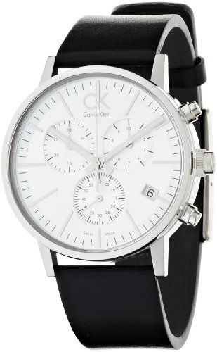 Calvin Klein Men's CK7627120 Post Minimal Chronograph Watch CK Calvin Klein. $288.83. Case diameter: 42 mm. Durable mineral crystal protects watch from scratches. Stainless-steel case. Quartz movement. Water-resistant to 99 feet (30 M). Save 27% Off!