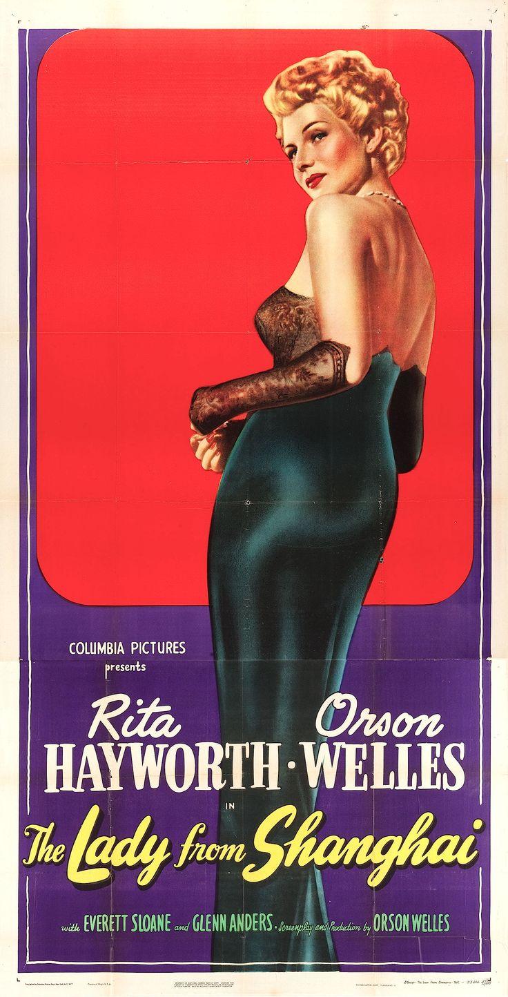 #TheLadyfromShangai with #RitaHaywort and #OrsonWelles, 1947