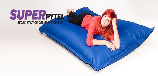 Stylové sedací vaky pro vaše pohodlí!