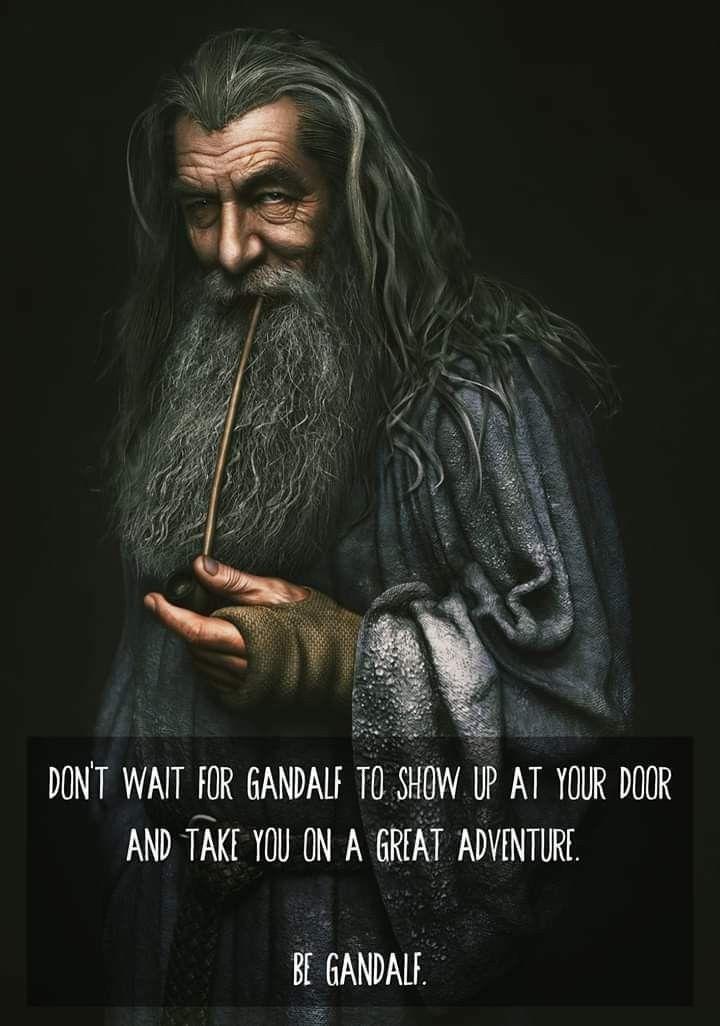 Gandalf Gandalf The Hobbit Movies Lotr Trilogy