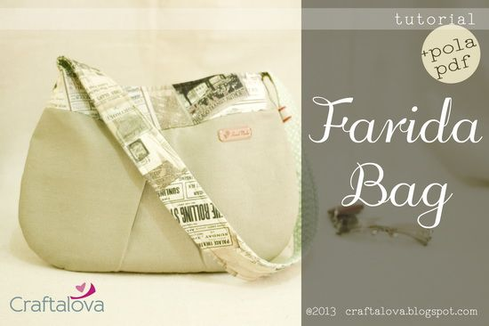 Craftalova: Tutorial: Farida Bag