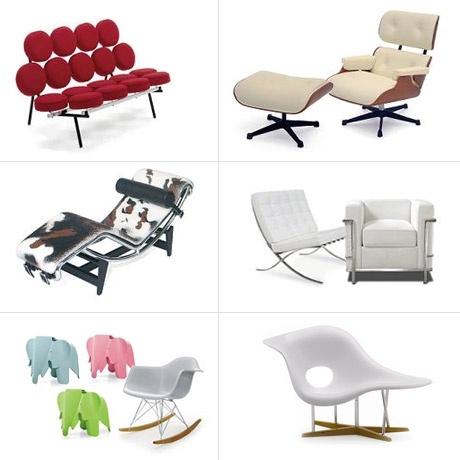 113 best poppenhuis dullhouse meubels modern retro en design images on pinterest modern - Eames meubels ...