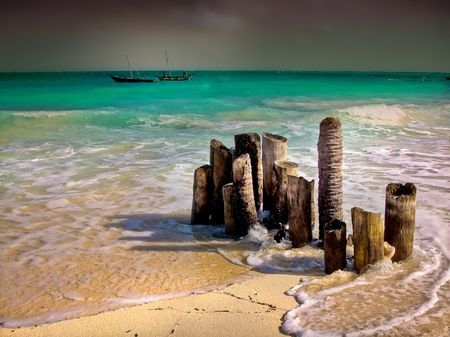 The Stormy Sunsets of Zanzibar Photo by Nora de Angelli -- National Geographic Your Shot