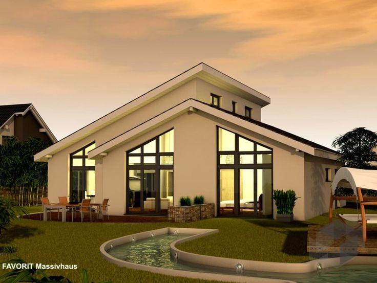 Chalet 132 Von Favorit Massivhaus ➤ Häuser Mit Grundrissen ✓ Alle Haustypen  ✓ Getesteter Anbieter ✓ Getesteter Anbieter ✓ Außerdem Weitere Häuser ...