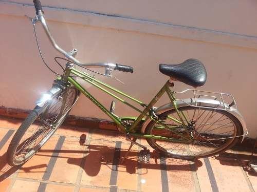 Bicicleta Peugeot Antiga Verde - Original Relicarioilhabela