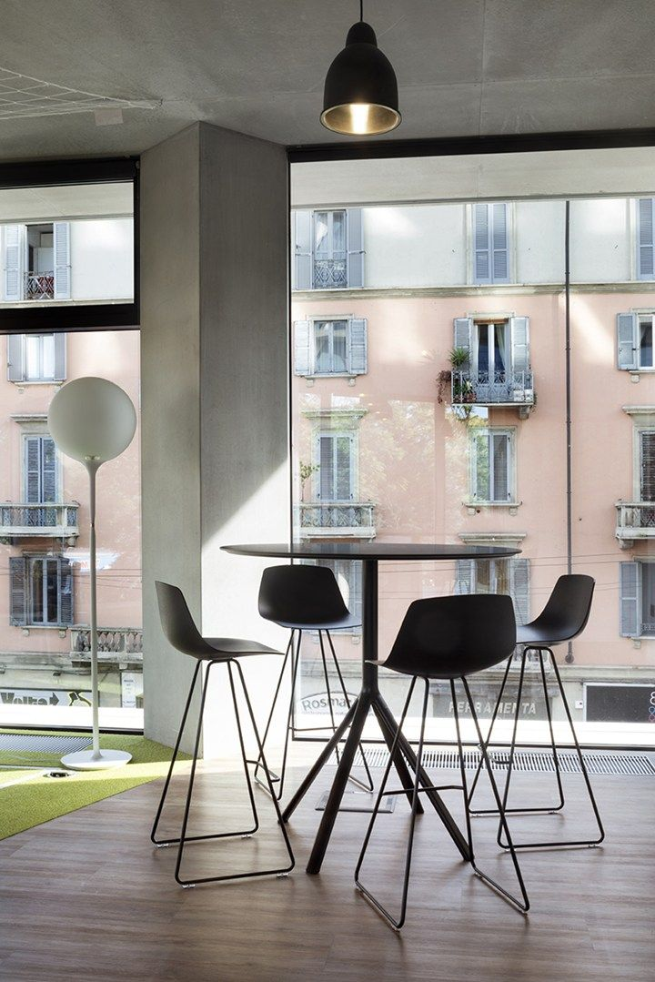 Lapalma For Microsoft Milan Headquarters Openness, Flexibility And  Dynamism: DEGW Interior Design Project