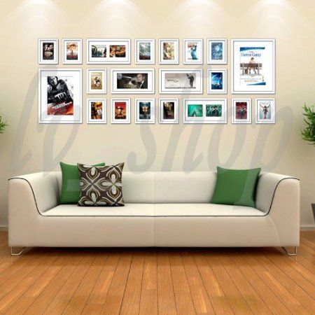 Large Multi Picture Photo Frames Wall Set 20 Pieces Set
