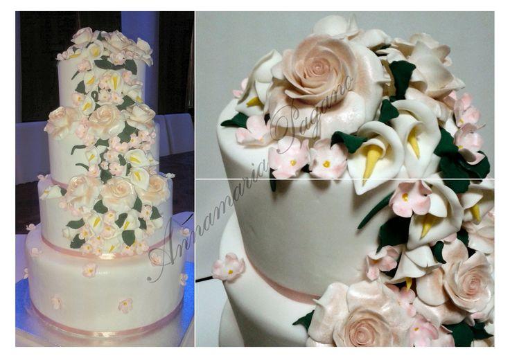 Una Wedding Cake per un matrimonio da favola!