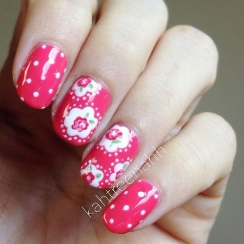 Nail Arts By Rozemist Cath Kidston Vintage Inspired: 17 Best Ideas About Wide Nails On Pinterest