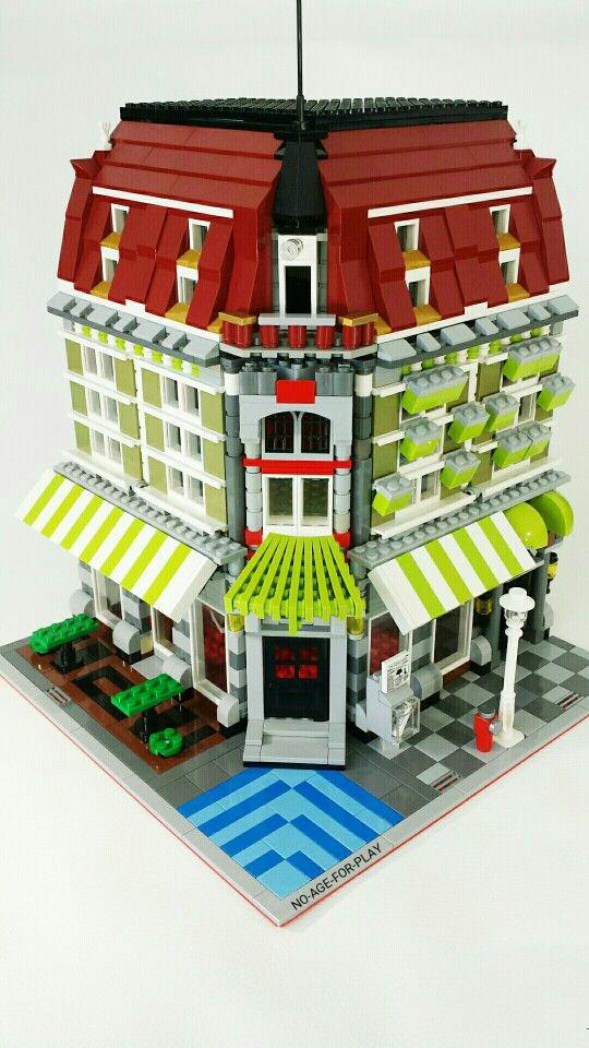 872 best lego modulars images on pinterest lego building lego modular and - Lego construction maison ...