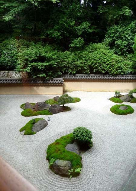 Japanese Garden At Hyatt Regency Kyoto, Perfect Zen Garden