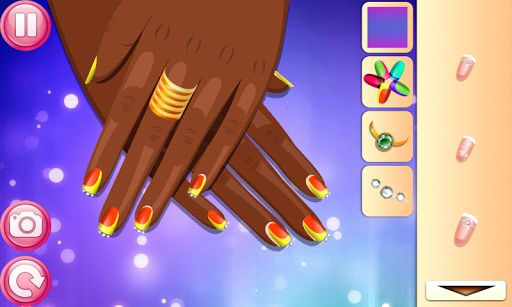 Celebrity Nail Salon - spa beauty salon and celebrity pop games for girls<p>Now you can play for free with new makeover and make up manicure game. Celebrity Nail Salon - beautiful spa salon for famous people. Make the hands of your celeb clients look fantastic. Prepare your dolls for party or performance. For all fans of hair salon and dress up salon games fore kids.<p>The clients want to look like barbie dolls in the end of your services.<br>Use foot care tips and make your client happy…