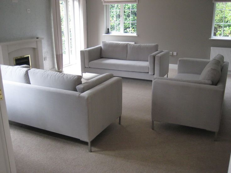 Three Bespoke Sofas Adapted From Our Retro Design Each Sofa Measures 200 Cm Wide