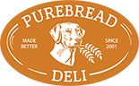 PUREBREAD DELI (Newark, DE) is a deli like no other. Locally owned and operated with several locations in Delaware, the Purebread Deli family takes pride in that it is not a chain, but a restaurant that provides product that wows the customers. The love of dogs combined with their passion for delicious food back in 2001. With over five locations and 90 staff members now, Purebread has become a huge hit for the Delaware masses.