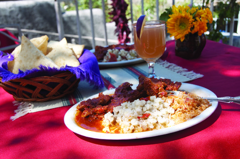 Carne adovada recipe from the Rancho de Chimayo cookbook