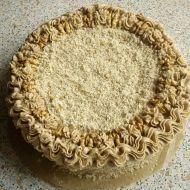 Fotografie receptu: Ořechový dort s kávovým krémem
