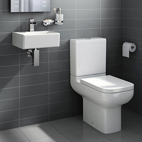iBathUK Square Ceramic Small Cloakroom Basin Bathroom Sink   Short Projection Toilet No description (Barcode EAN = 5055826030828). http://www.comparestoreprices.co.uk/december-2016-3/ibathuk-square-ceramic-small-cloakroom-basin-bathroom-sink- -short-projection-toilet.asp