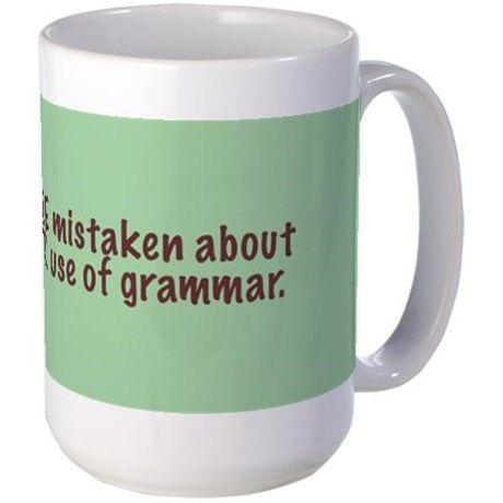 You're Your - Large Mug