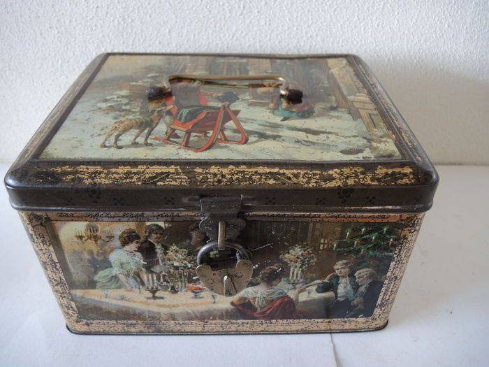 Decorative Box Lunches : Best tin cans decorative boxes images on